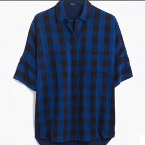 Madewell Blue Buffalo Check courier shirt